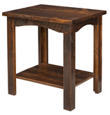 Rough Cut Maplewood End Table