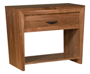 North Avenue 1 Drawer Open Nightstand
