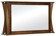 Caledonia 2 Way Flat Screen TV Mirror