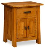 Freemont 1 Drawer 2 Door Night Stand