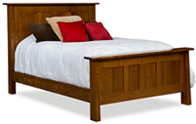 Freemont Mission Panel Bed