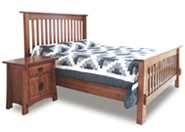Modesto Slat Bed