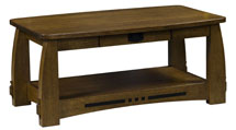 Colebrook Open Coffee Table