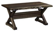 Remington Coffee Table with Live Edge