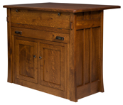 Grant Frontier Island Buffet with Pull Out Table