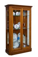 Latonia 2 Door Curio Cabinet