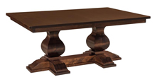 Barrington Double Pedestal Dining Table